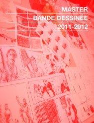 master bande dessinée 2011-2012 - École européenne supérieure ...