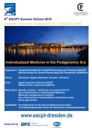 Individualized Medicine in the Postgenomic Era - SIF