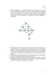 Ejercicios de busqueda (II)