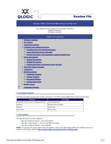 Qlogic fibre channel stor miniport