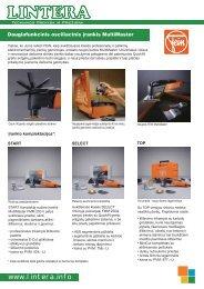 Daugiafunkcinis osciliacinis įrankis MultiMaster - Lintera.info