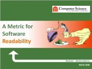 A Metric for Software Readability - ArrestedComputing
