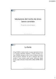 Intervento dott. Paolo Musi (Area Sicurezza e ... - M2servizi.it