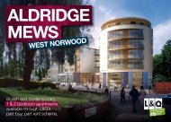ALdridge MeWS - London & Quadrant Group