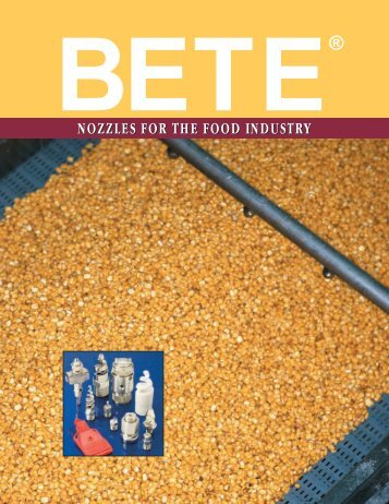 nozzles for the food industry nozzles for the food industry