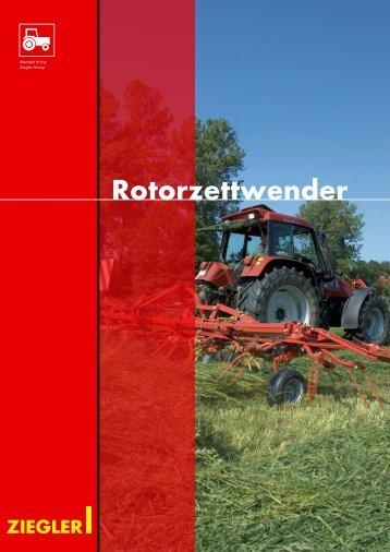 Rotorzettwender (Neugeräte nicht mehr lieferbar)
