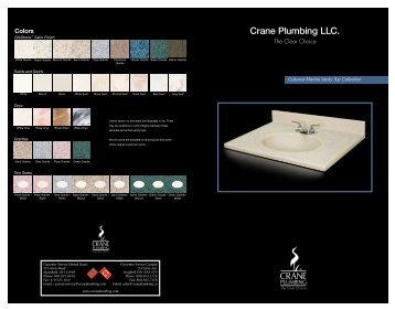 Cultured Marble Vanity Top Collection - Crane Plumbing
