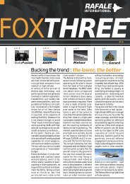 Fox Three n°6.pdf - Dassault Aviation