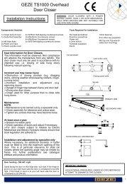 Fitting Instruction 1 - Safelincs