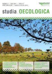 2/2011 - Fakulta životního prostředí - UJEP