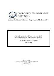 View - Institut für Numerische und Angewandte Mathematik