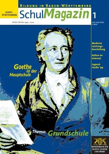 Thema: Grundschule - BOA: Baden-Württembergisches Online-Archiv