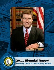 2011 Biennial Report - Office of the Attorney General