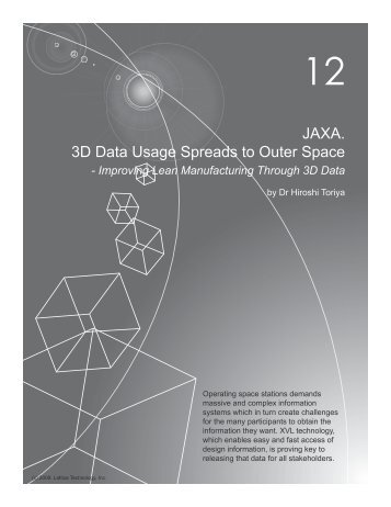 3D Data Usage Spreads to Outer Space at JAXA - Lattice Technology