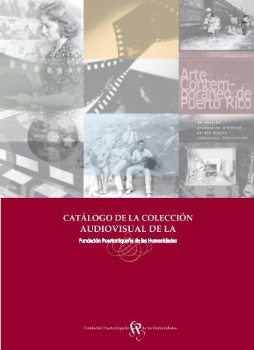 catalogo de la coleccion audiovisual de la fph - Fundación ...