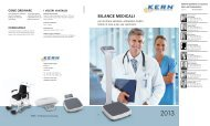 (10 MB) Catalogo Kern 2013 bilance medicali