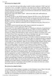 Bestyrelsens beretning - Dansk Selskab for Medicinsk Fysik