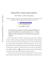 Tuning order in cuprate superconductors