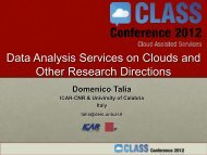 Data Analysis Services - Cloud Assisted Services