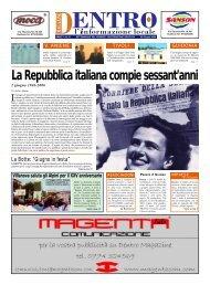 La Repubblica italiana compie sessant'anni - La Voce del Nord Est ...