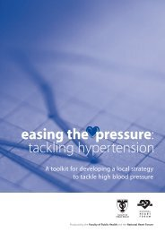 Easing the pressure: tackling hypertension - UK Faculty of Public ...