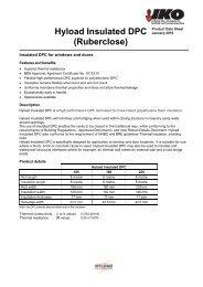 Hyload Insulated DPC (Ruberclose) - IKO