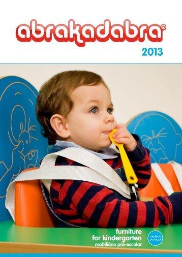 furniture for kindergarten - Abrakadabra