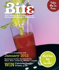 Download January 2012 - Bite Magazine