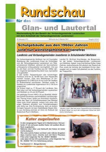 Amtsblatt KW 40 - Verbandsgemeinde Lauterecken