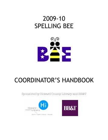 Minnesota State Spelling Bee - Howard County Library