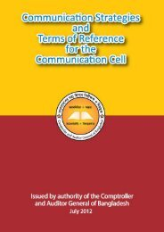 objectives of internal communication - Office of the Comptroller and ...