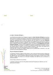 La charte « Partenaire effinergie - Cellule Économique du Bâtiment ...