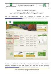 Guida alla convenzione (833 KB) PDF - Agenzia Regionale ...