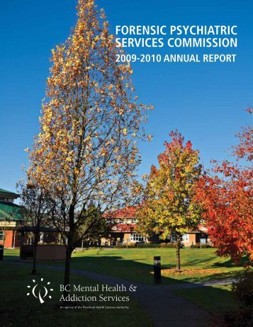 forensic psychiatric services commission - BC Mental Health and ...