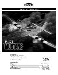 Instruction manual - hangar 9 - Astra