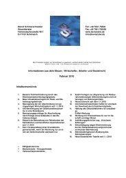 und Sozialrecht Februar 2010 Inhaltsverzeichnis