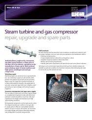Heading subheading Steam turbine and gas compressor repair ...