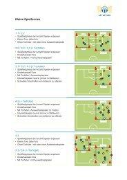 Fussball-Spielformen