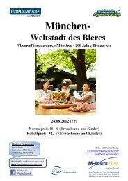 08 24 Reiseprogramm München