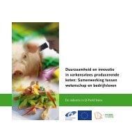 Duurzaamheid en innovatie in varkensvlees producerende keten ...
