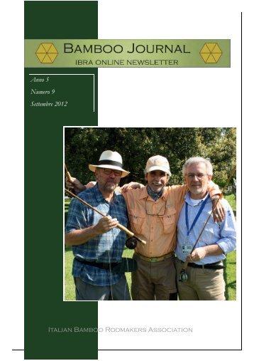 Italian Bamboo Rodmakers Association Anno 5 Numero 9 ...