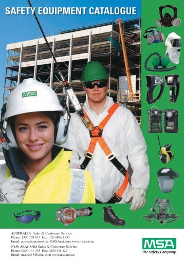SAFETY EQUIPMENT CATALOGUE - Eoss.com