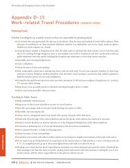 Work-related Travel Procedures (OSACH 2006) - Long-Term Care ...