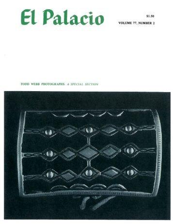 Navajo Silversmithing - El Palacio Magazine