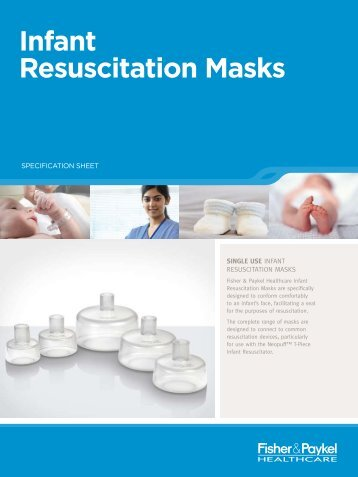 Infant Resuscitation Masks - Spira