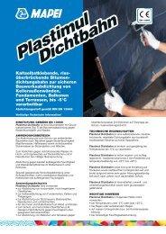 PLASTIMUL DICHTBAHN - heinze.de
