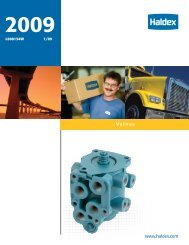 HBS - Haldex Air Valves 2009 - CARQUEST Auto Parts
