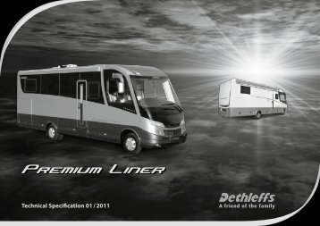 Technical Specification 01 / 2011 - Dethleffs
