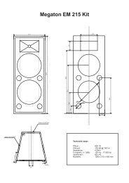Megaton EM 215 Kit - Prodance