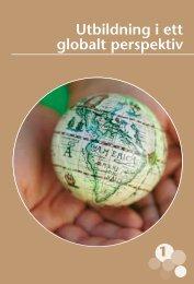 Utbildning i ett globalt perspektiv (pdf)